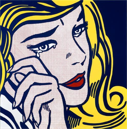 Roy Lichtenstein, 1964, Pop Art, Enamel Material: steel, 116.8 x 116.8 cm