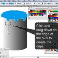 Subtractive Color Paint Cans 1.7