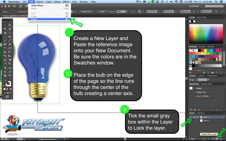 Additive Color - Bulb Step 2