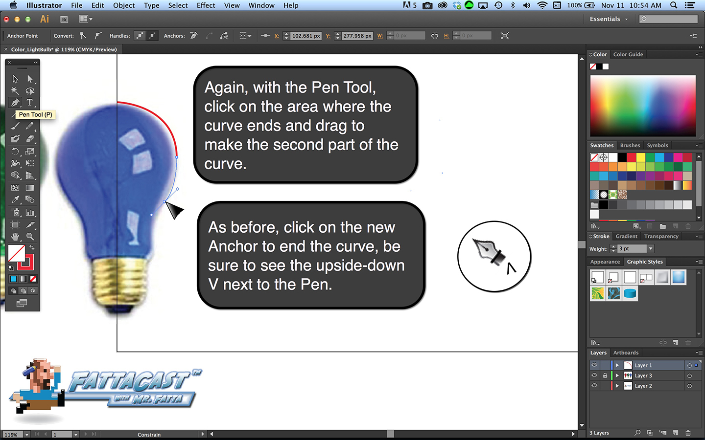 Additive Color - Bulb Step 5