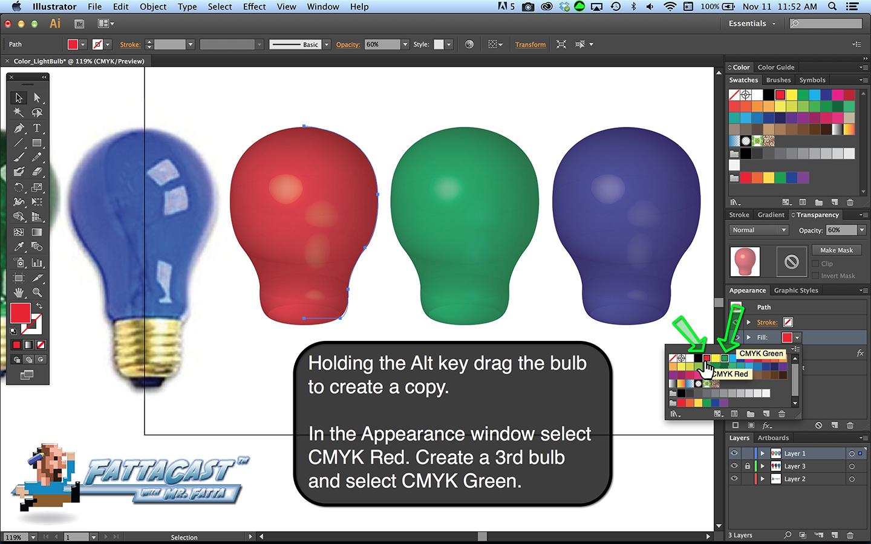 Additive Color - Bulb Step 9