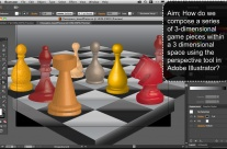 Chess Board Perspective