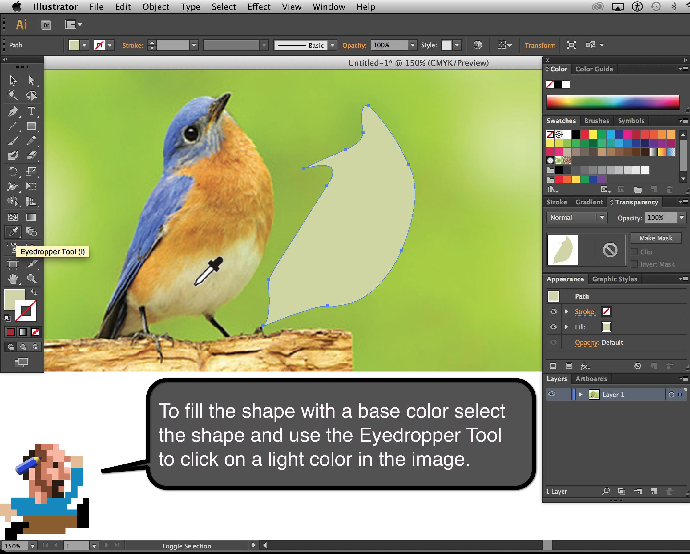 Bluebird_Step_1