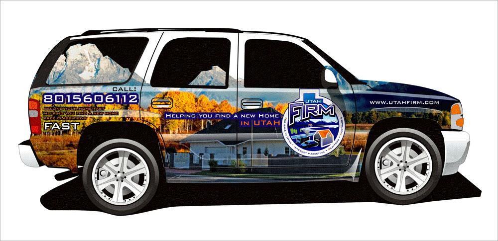 CarWrap SUV