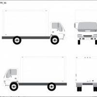 Isuzu Delivery Truck