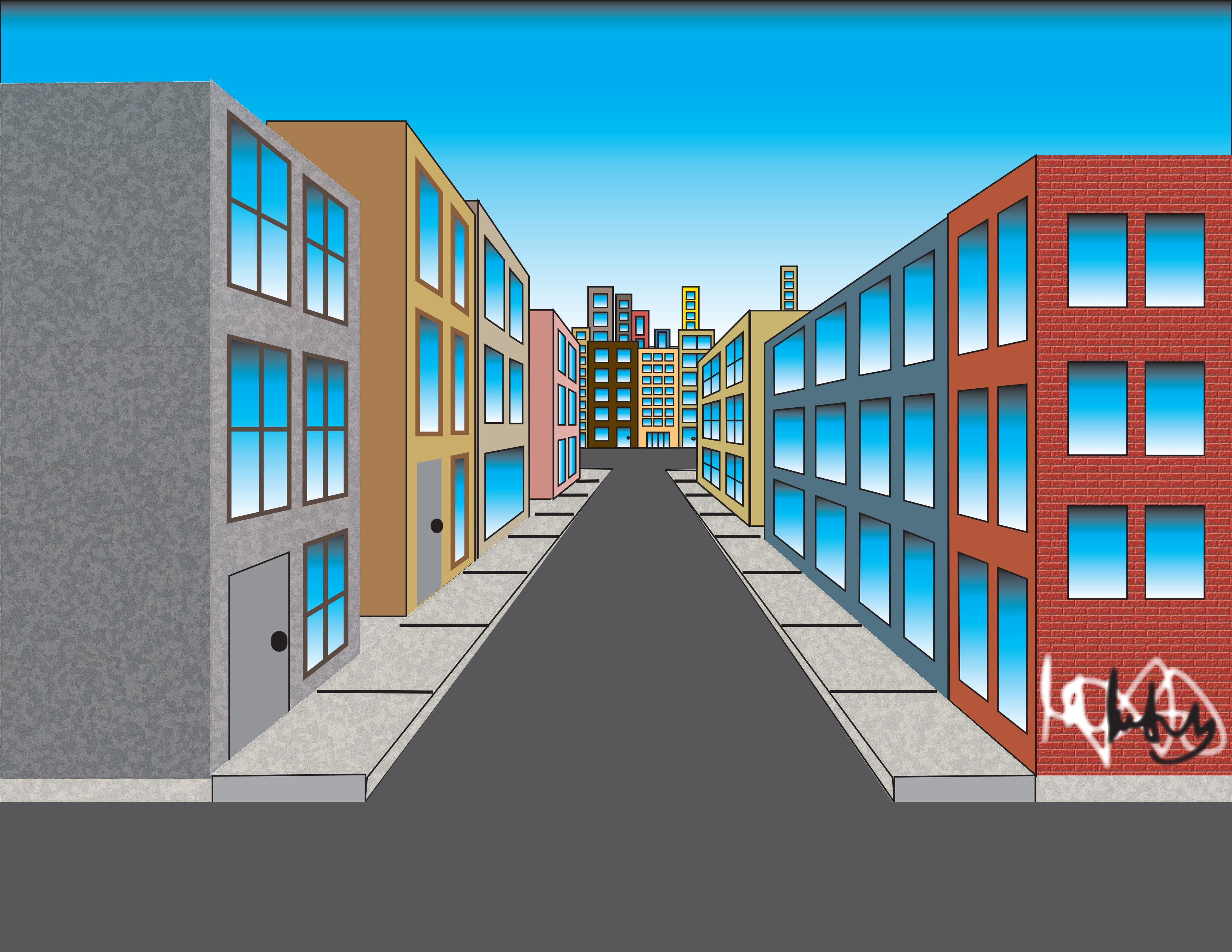 stuart davis  u2013 perspective city