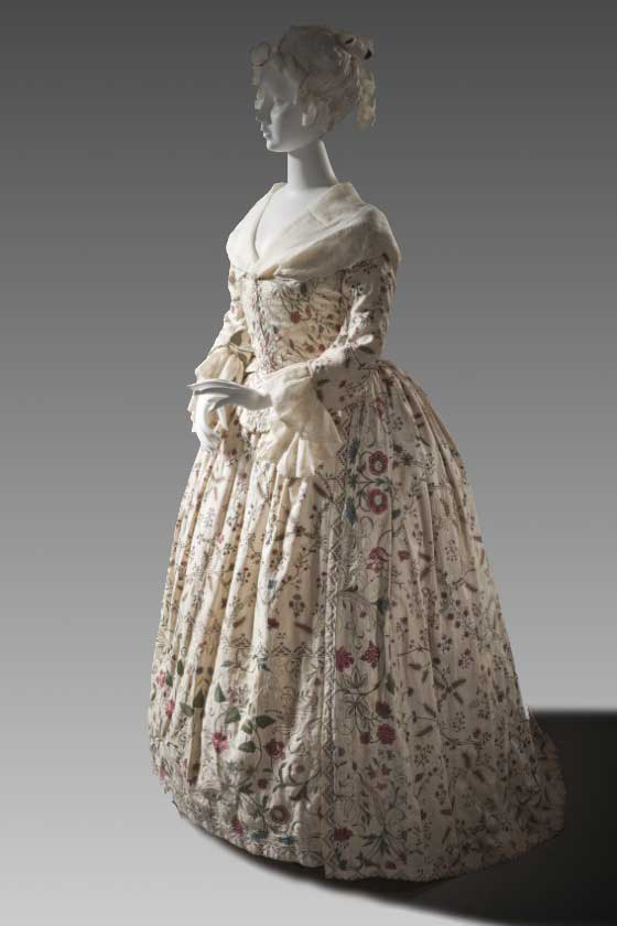 Woman's Robe with Petticoat