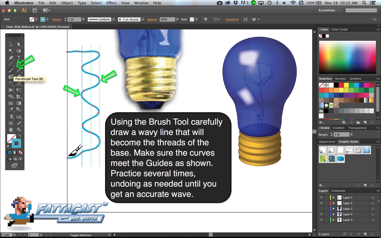 Bulb Base Step 2