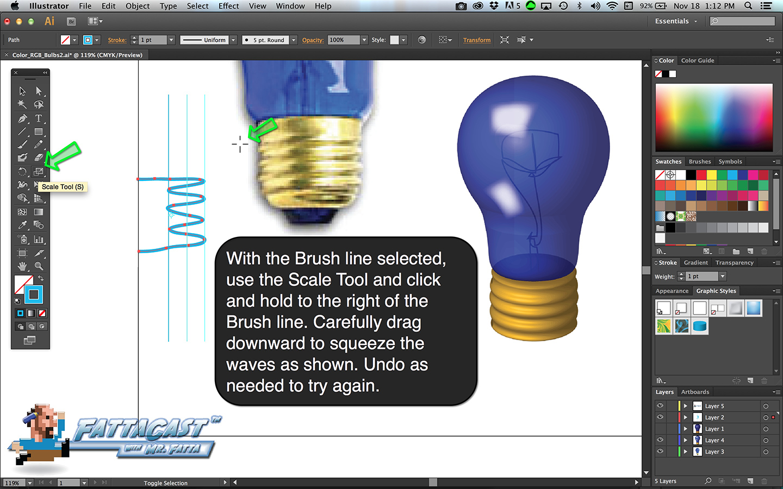 Bulb Base Step 3