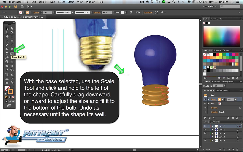 Bulb Base Step 6