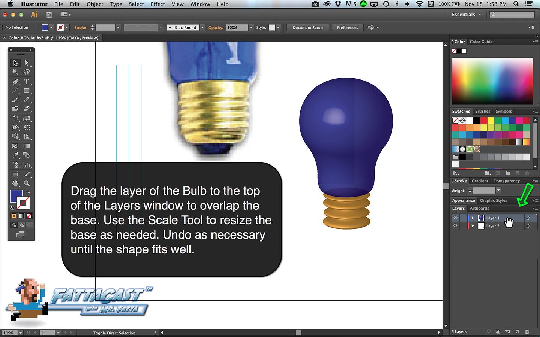Bulb Base Step 7