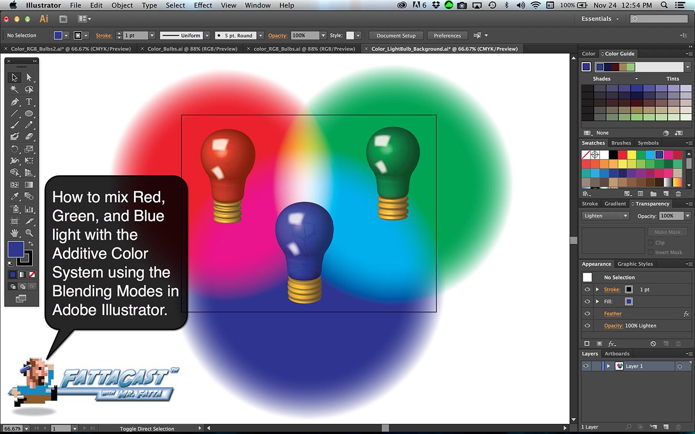 Color Bulbs Light Aim