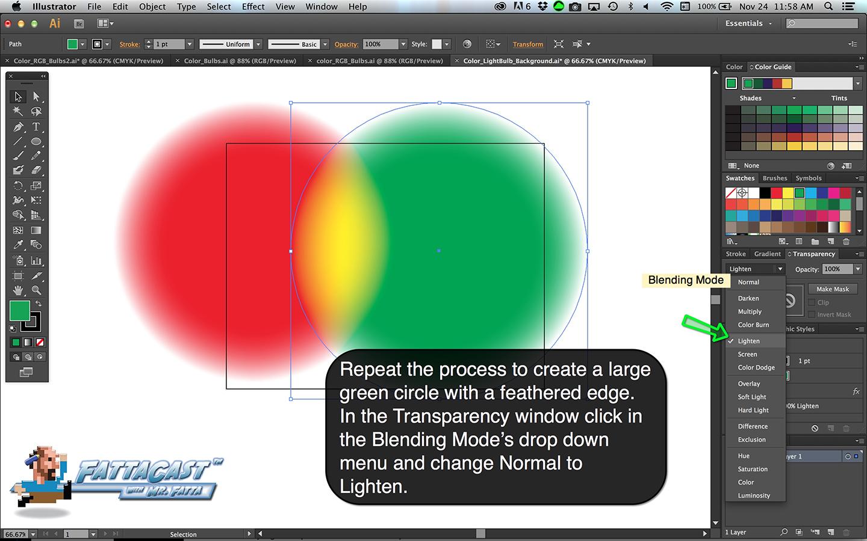 Color Bulbs Light Step 5