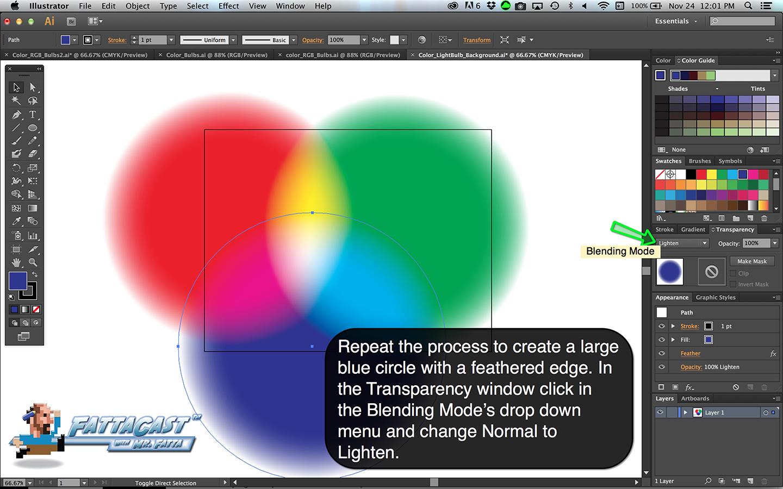 Color Bulbs Light Step 6