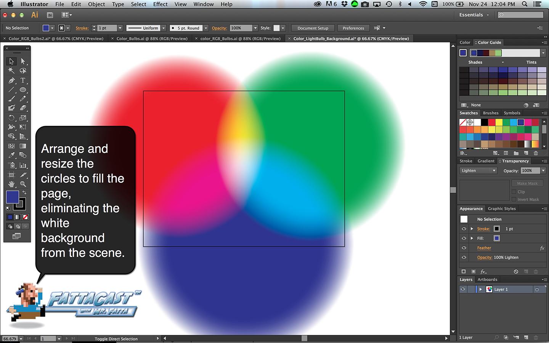 Color Bulbs Light Step 7
