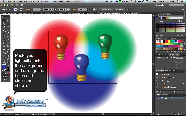 Color Bulbs Light Step 8