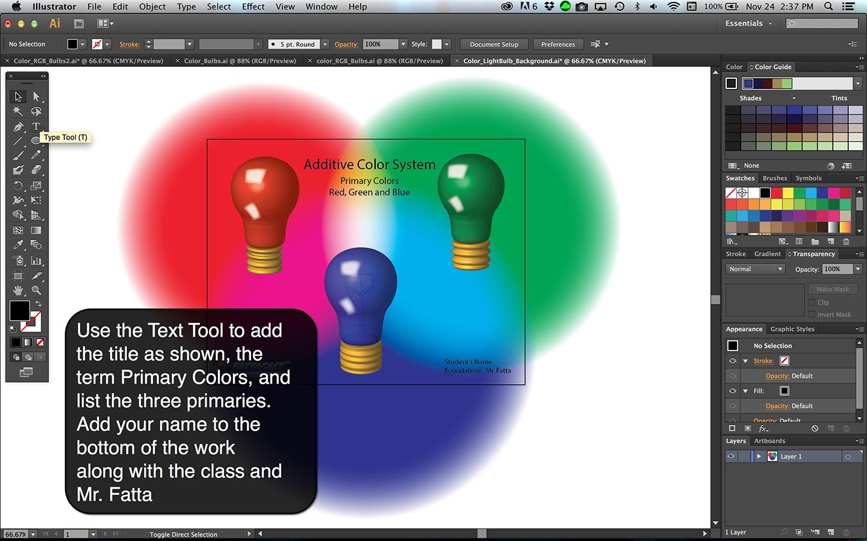 Color Bulbs Light Step 9