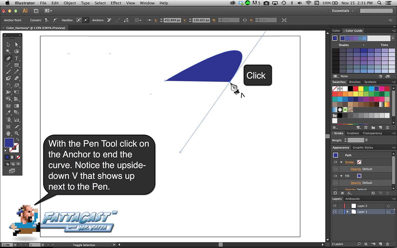 Pet Tool Curves Step 4