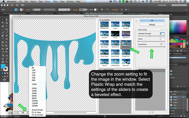 Subtractive Color Cans Step 16