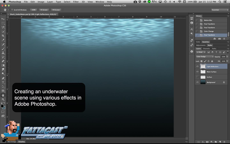 Under Water Scene Aim