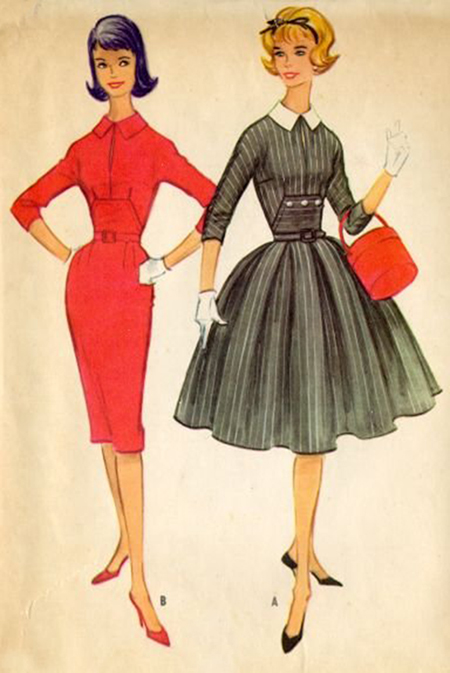 early 1950s fashion - photo #45