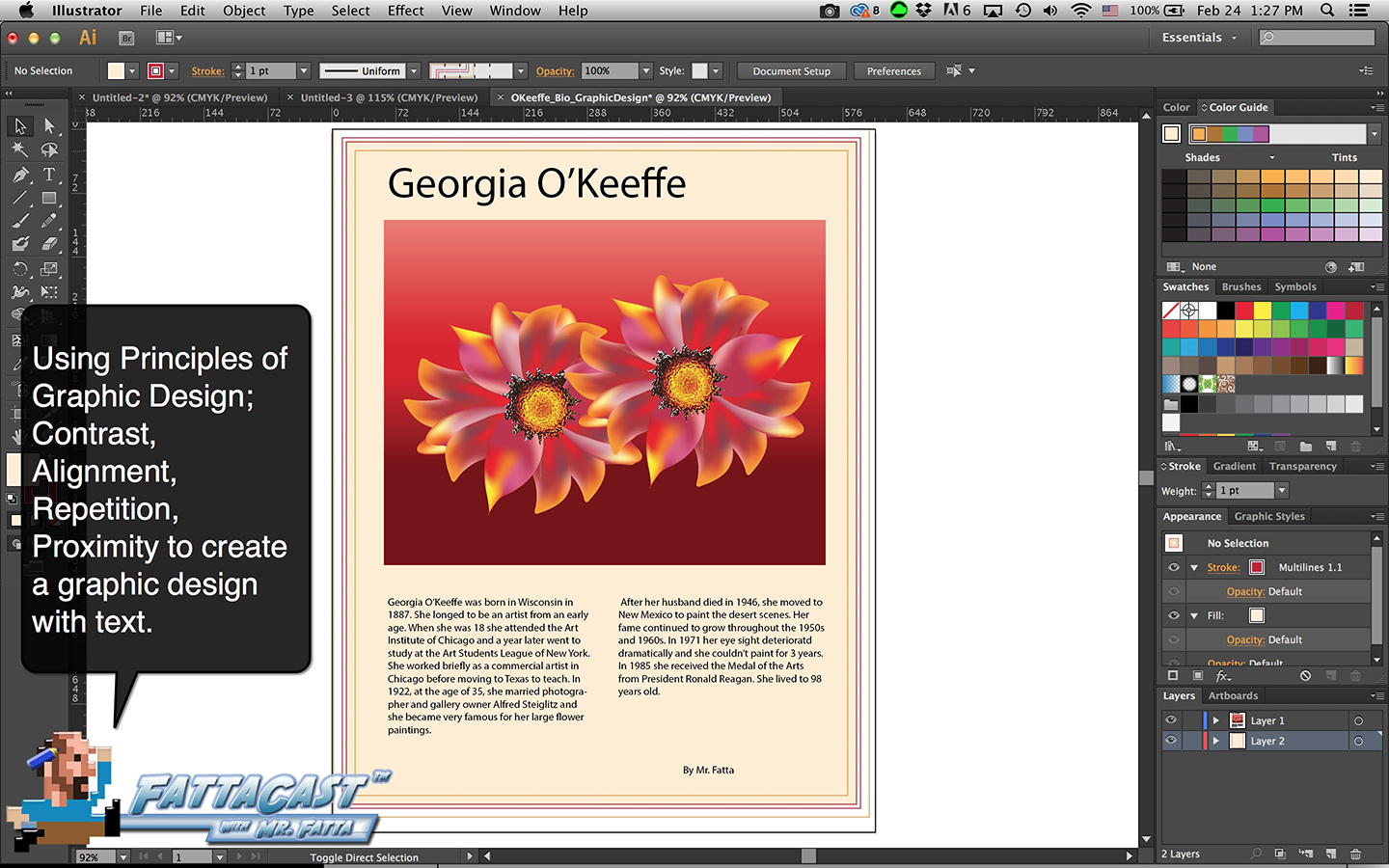 Bio Graphic Design Step 1