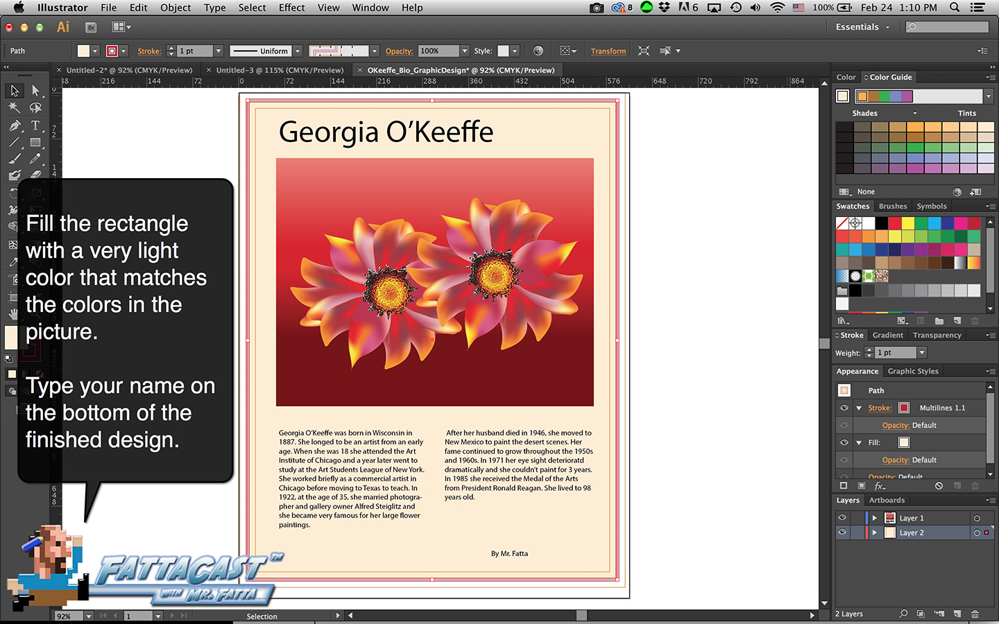 Bio Graphic Design Step 10