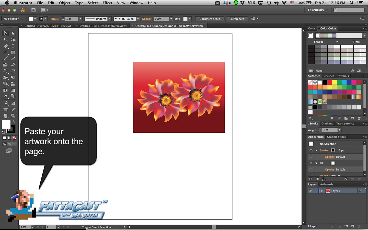 Bio Graphic Design Step 3