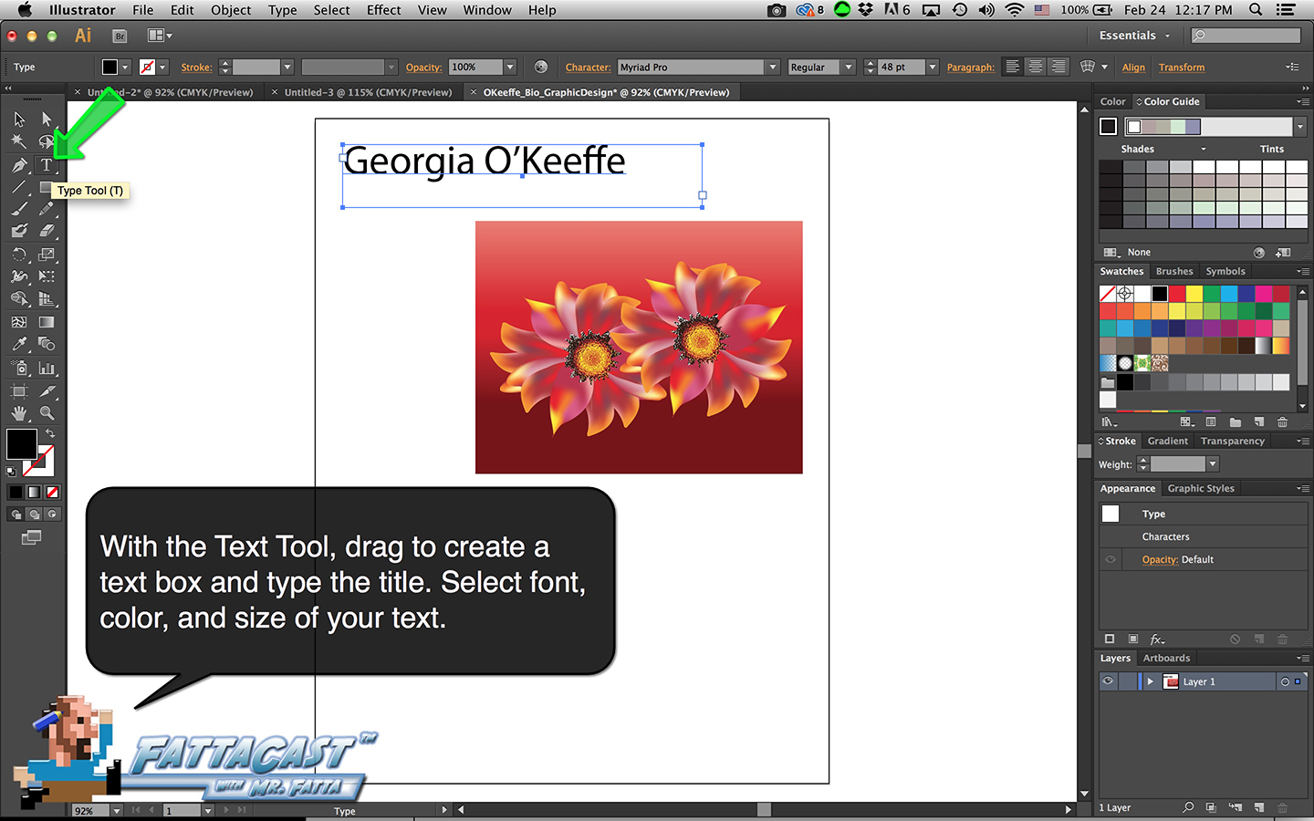 Bio Graphic Design Step 4