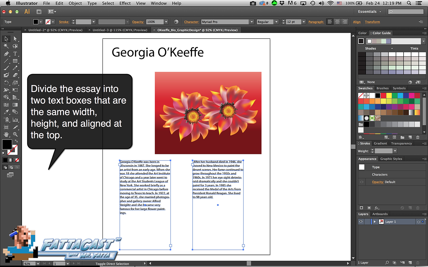 Bio Graphic Design Step 7