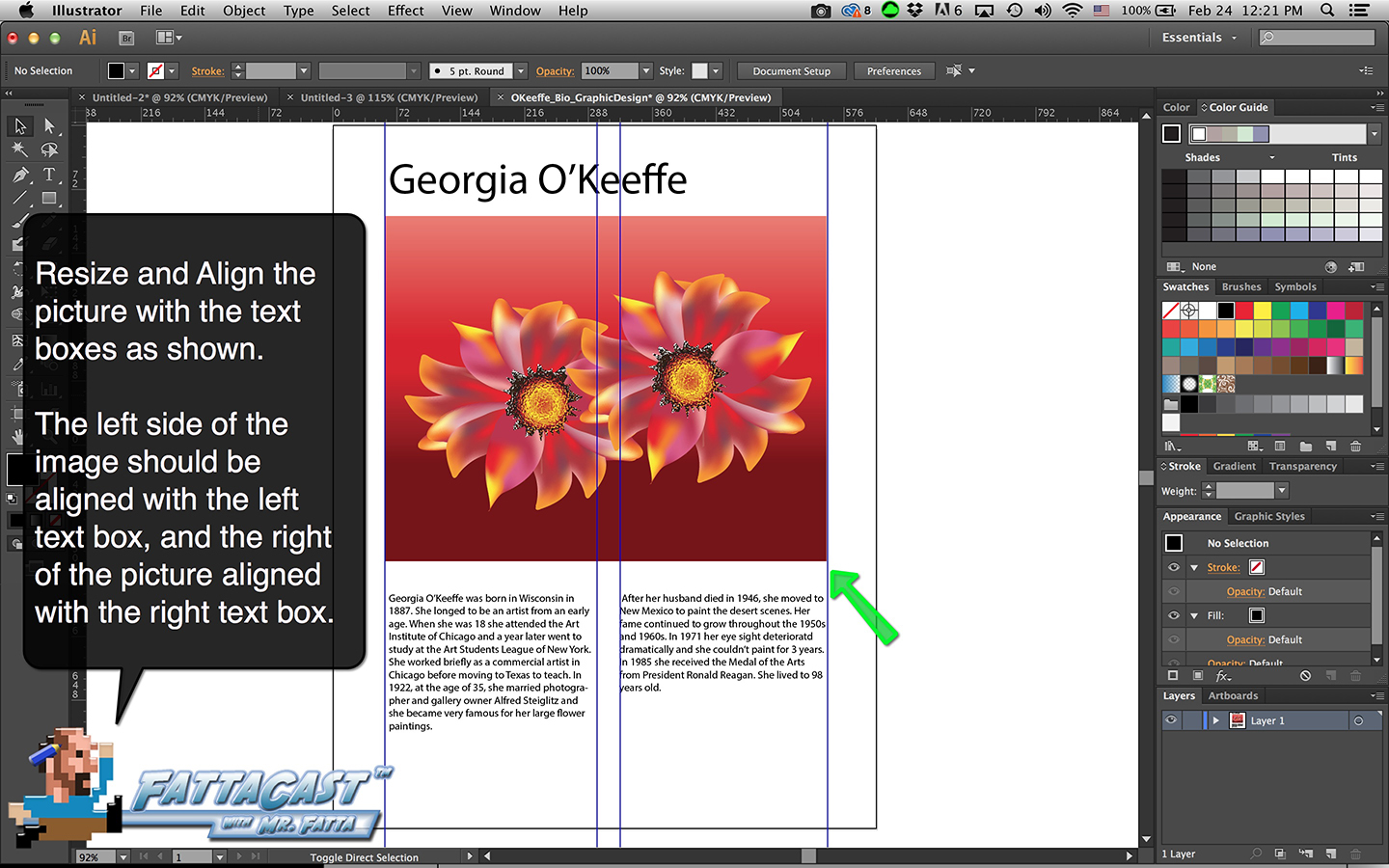 Bio Graphic Design Step 8