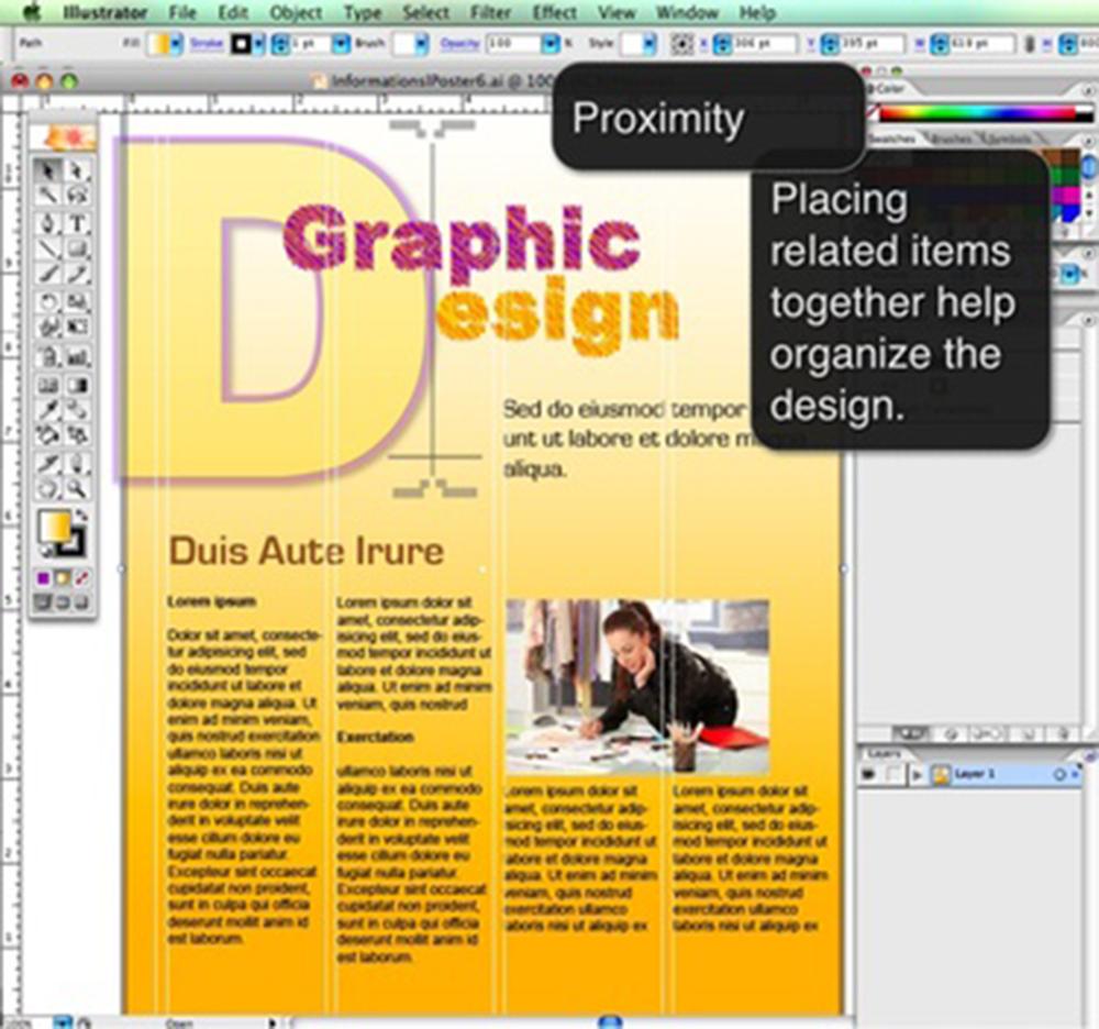 Graphic Design Principles Proximity
