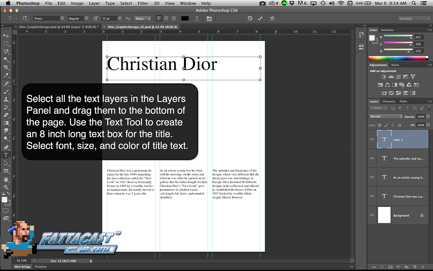 Graphic Design Step 9