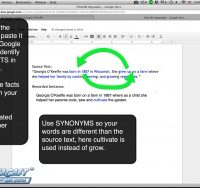 Writing from source Tip 5