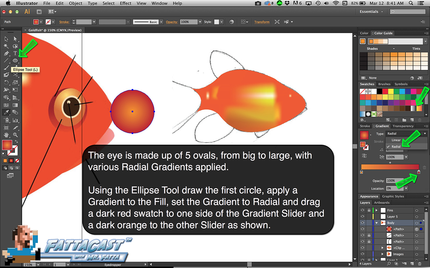 Goldfish Step 13