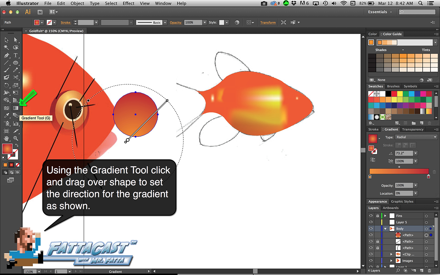 Goldfish Step 14