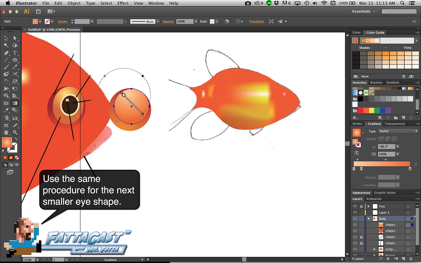 Goldfish Step 15