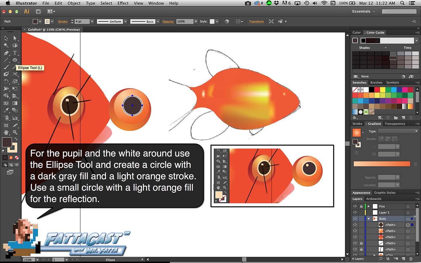 Goldfish Step 16