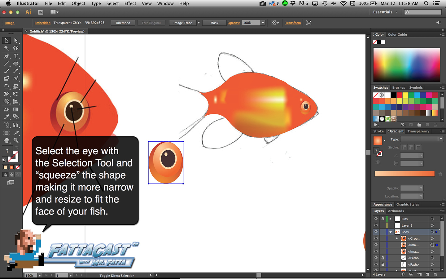 Goldfish Step 19