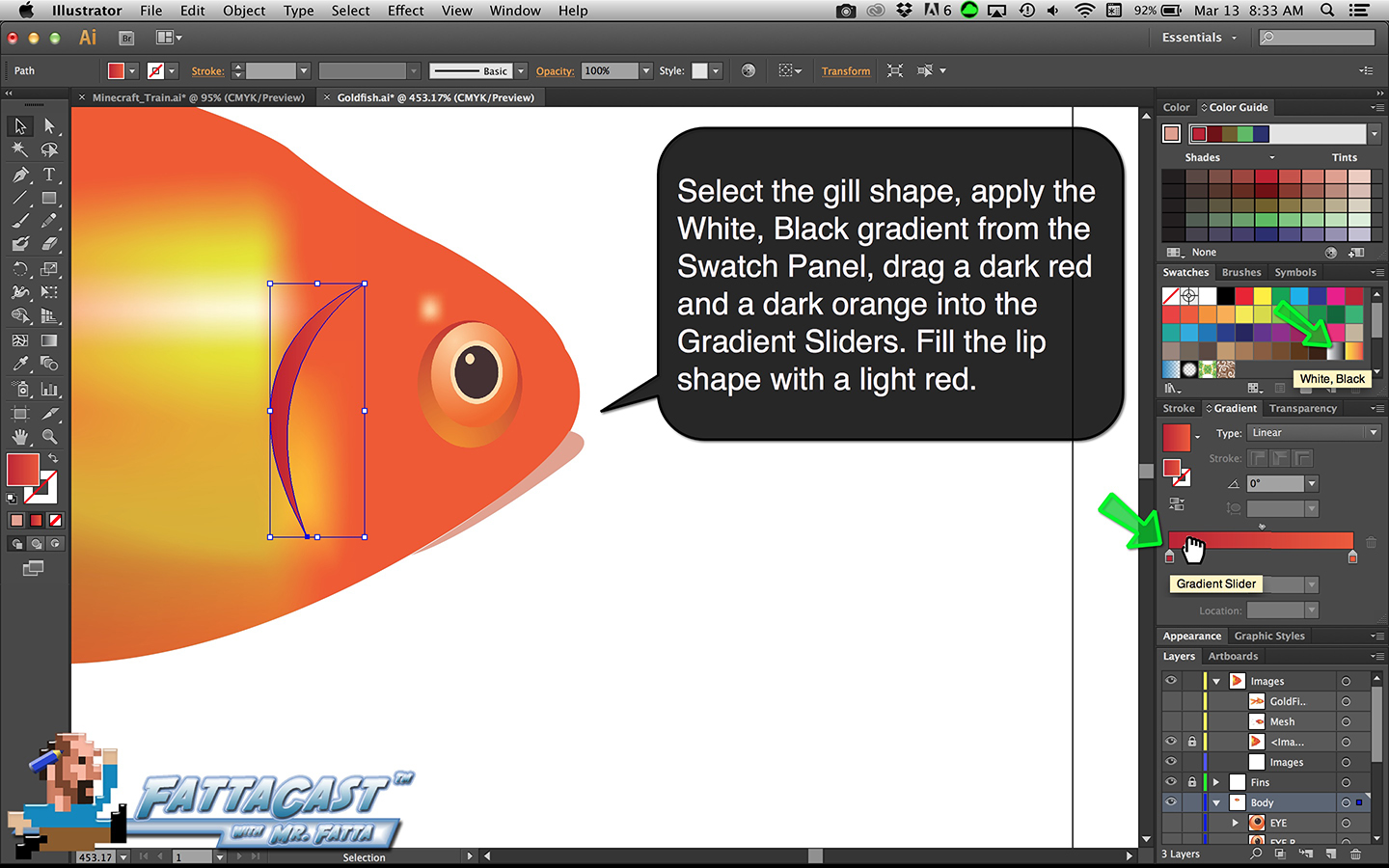Goldfish Step 20
