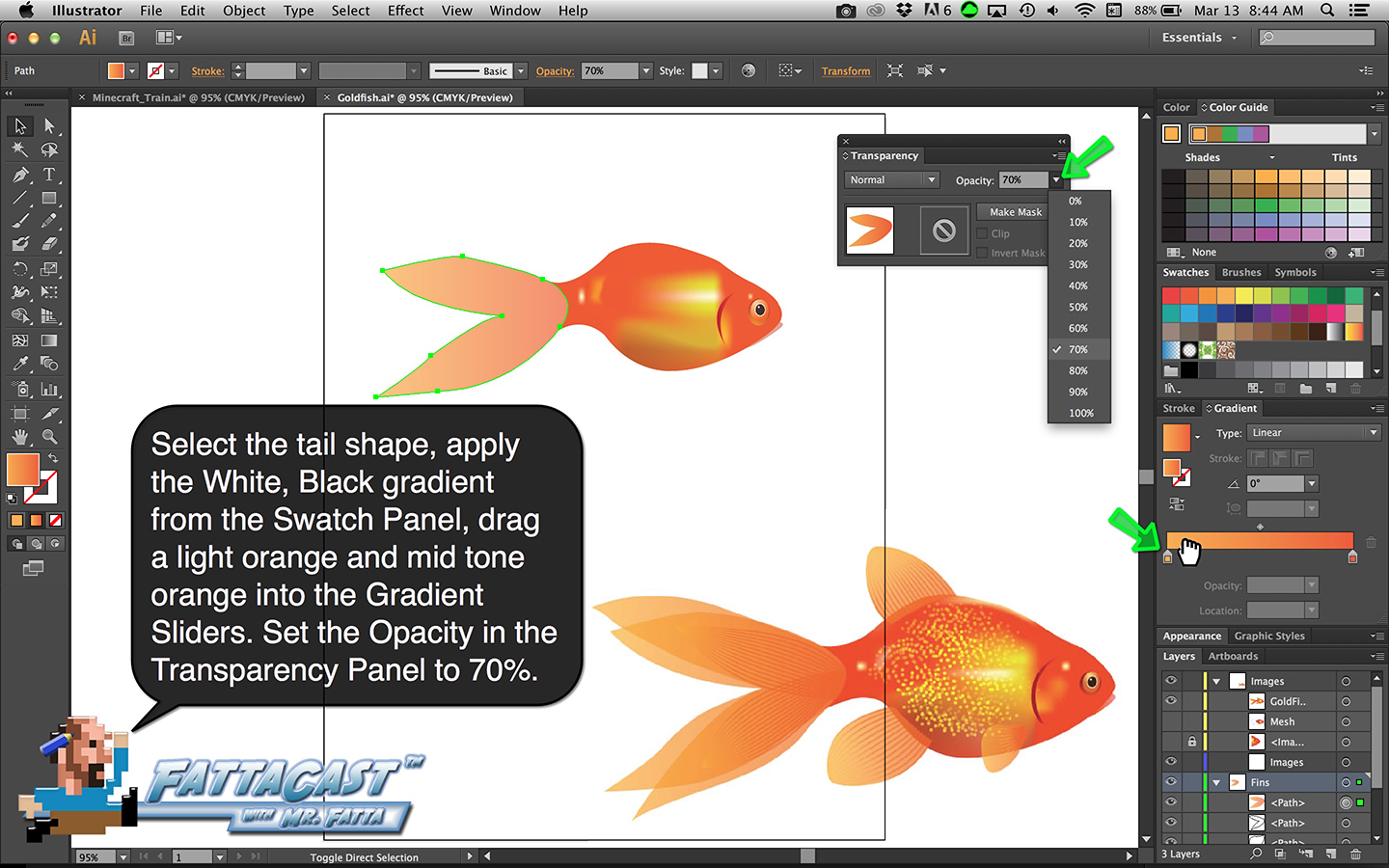Goldfish Step 21