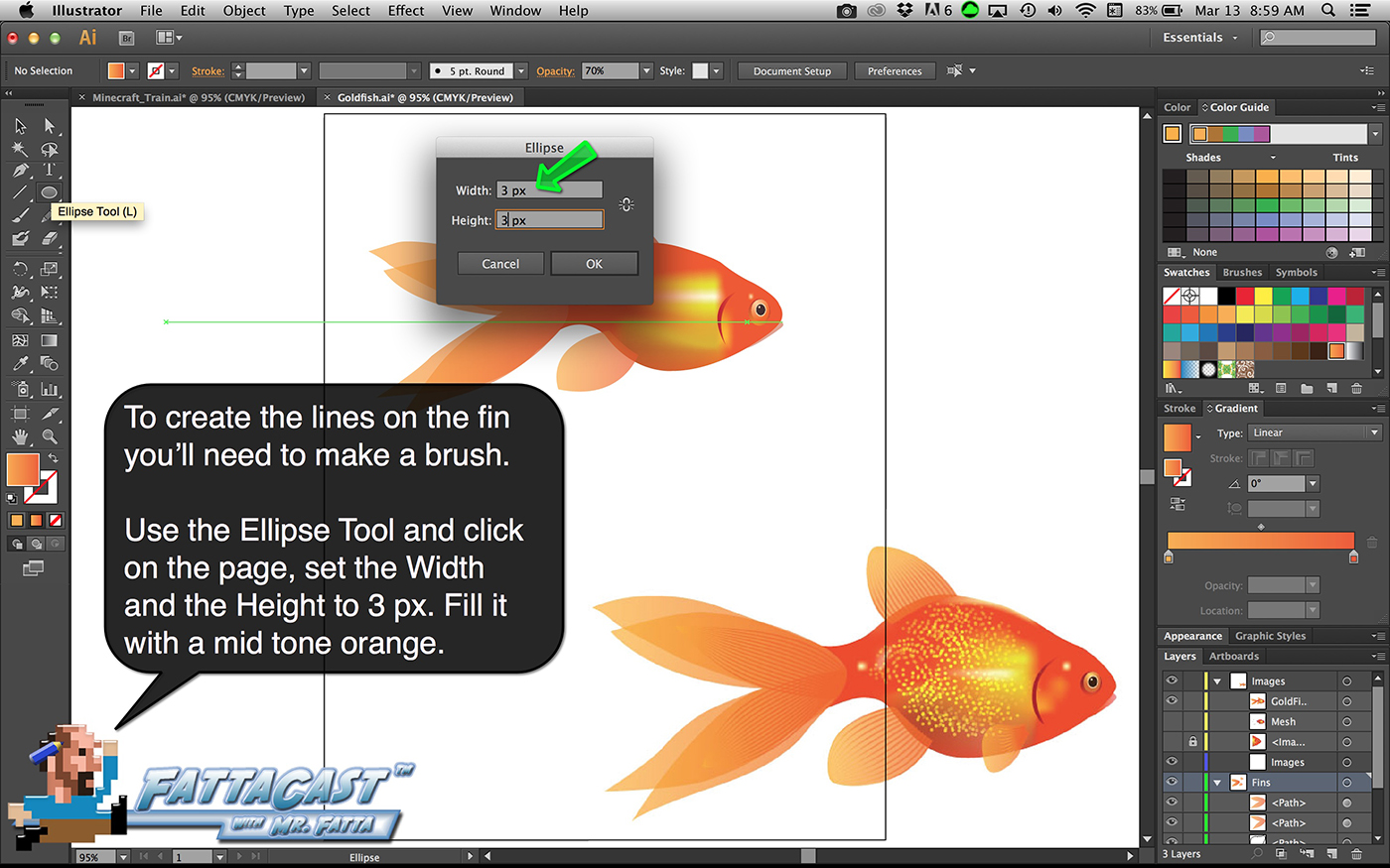 Goldfish Step 23