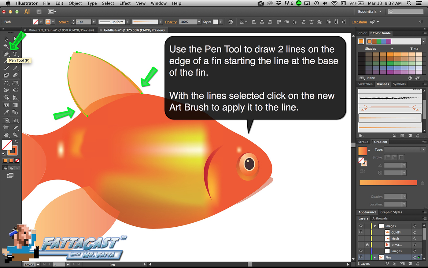 Goldfish Step 26