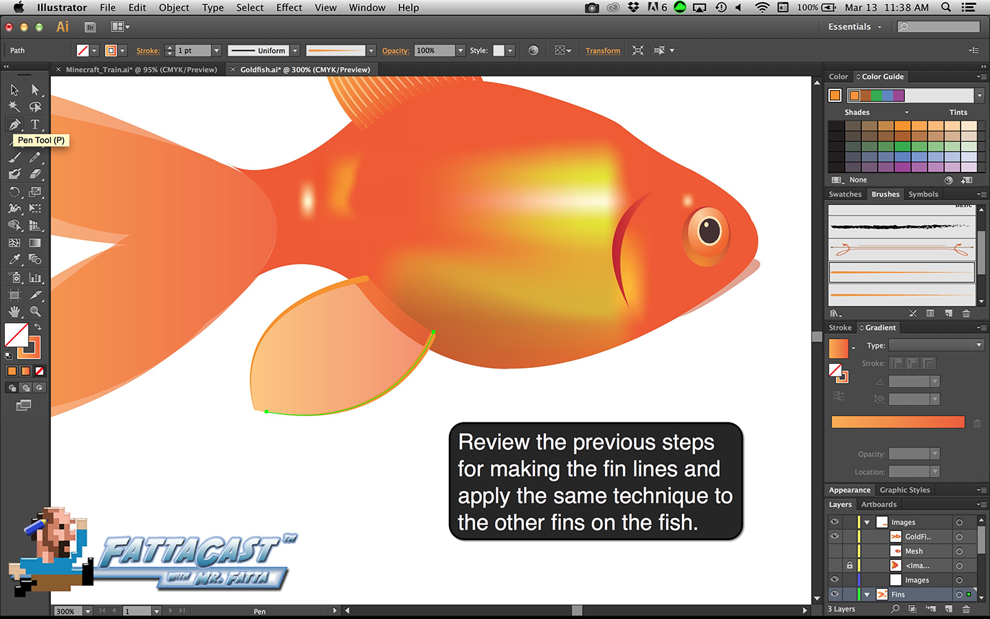 Goldfish Step 33