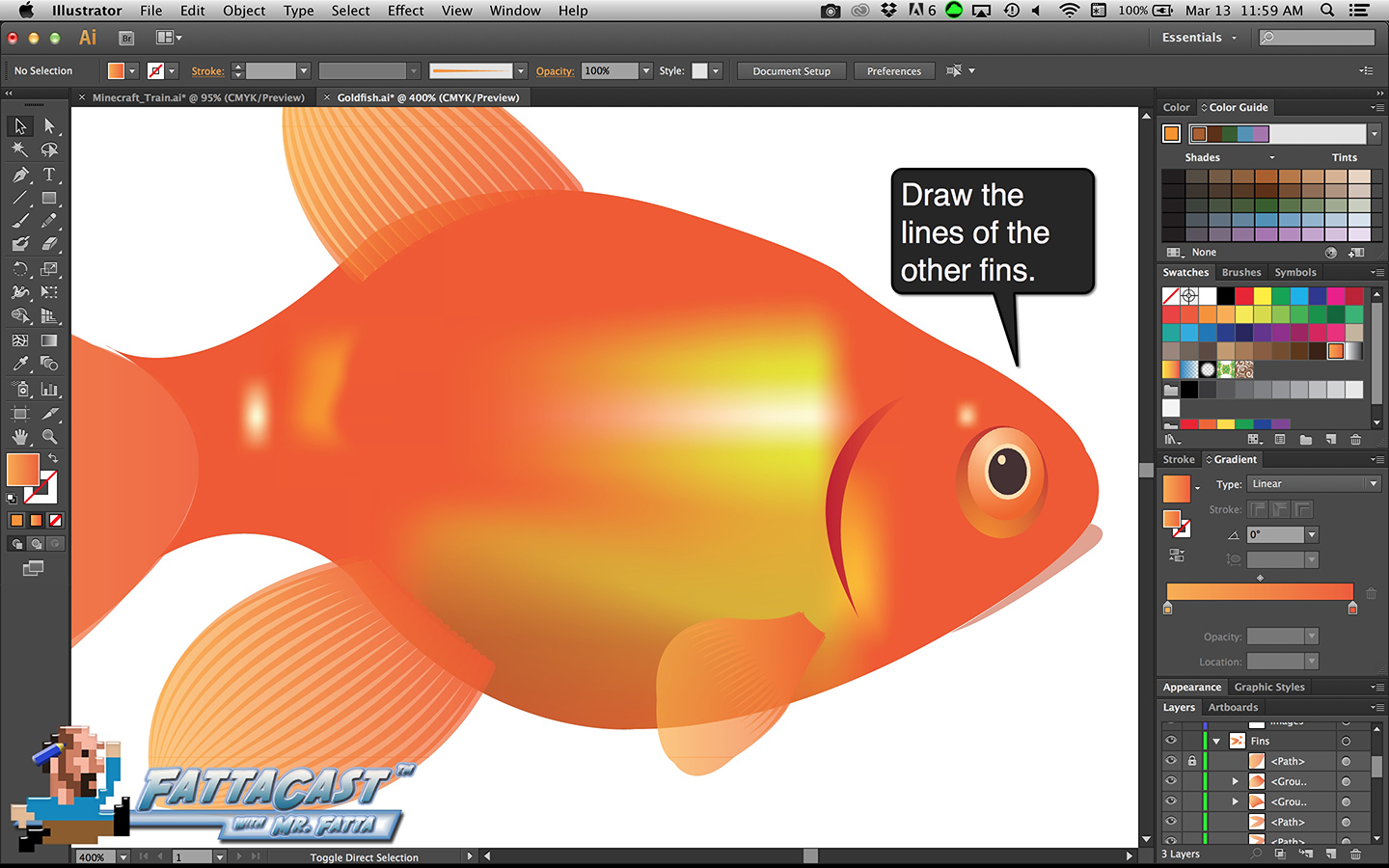Goldfish Step 34