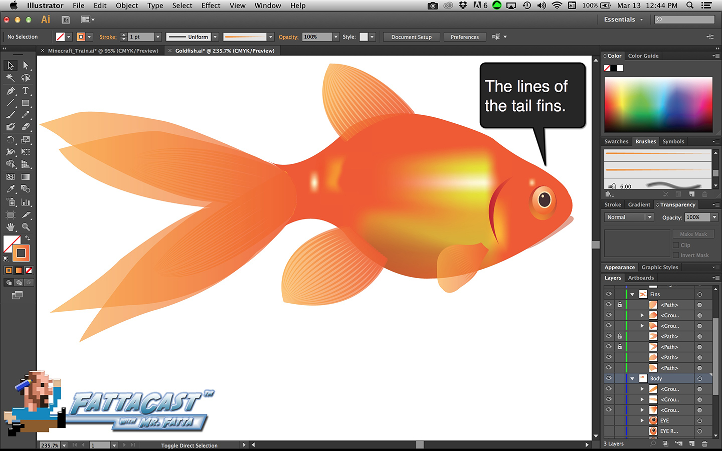Goldfish Step 35