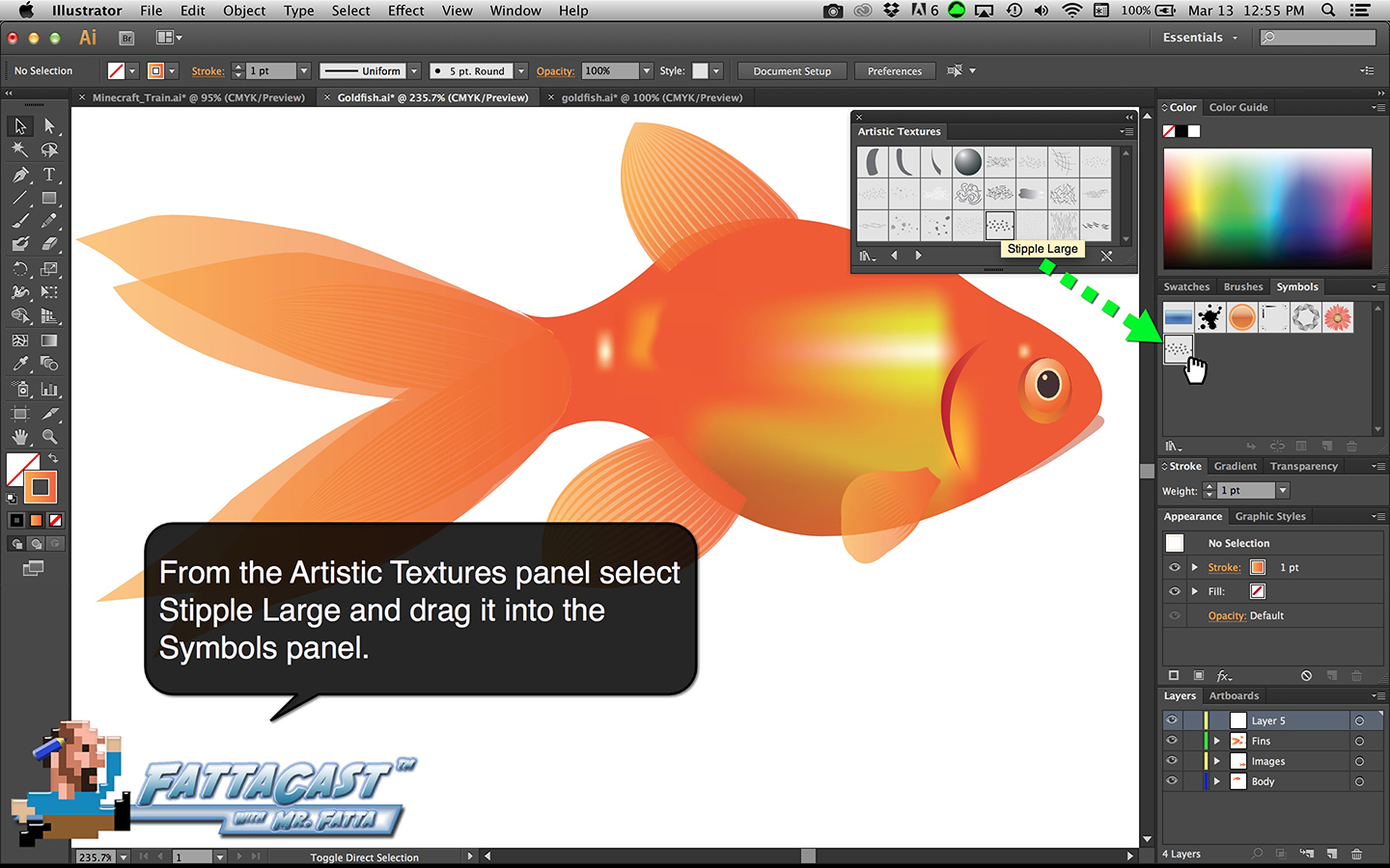Goldfish Step 37
