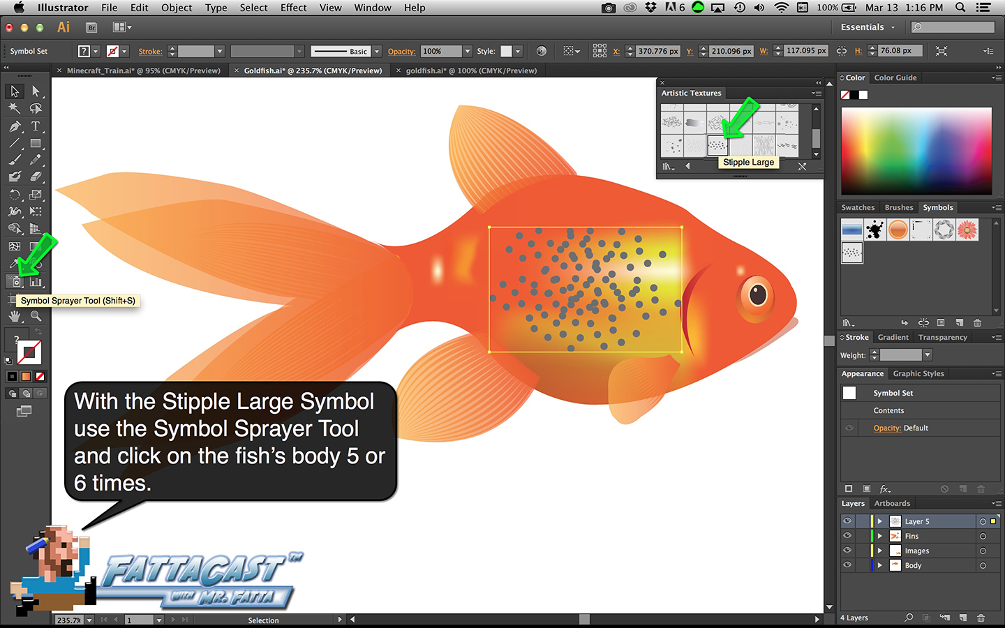 Goldfish Step 38