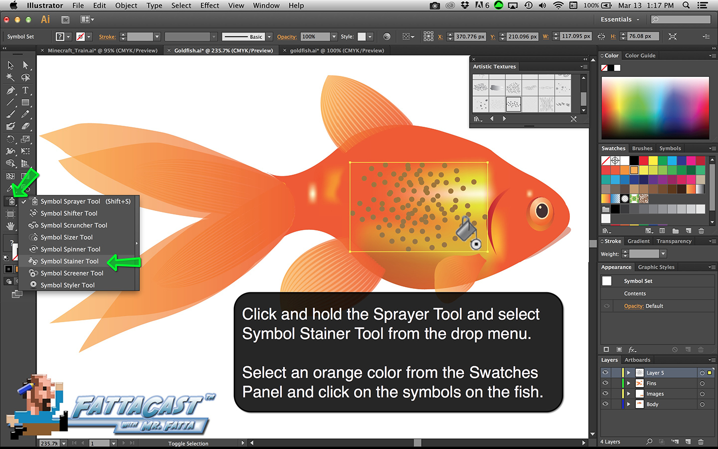 Goldfish Step 39