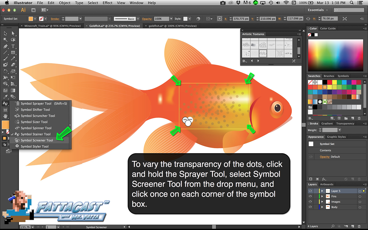 Goldfish Step 40